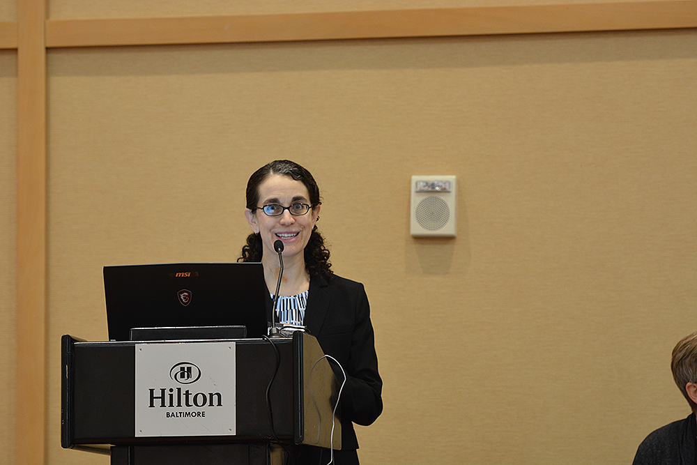 UW-CTRI Researcher Tanya Schlam presented four times in Baltimore, including three talks and a poster.