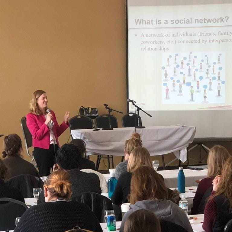 UW-CTRI Associate Director of Research Dr. Megan Piper spoke March 8 about quitting smoking at the 2018 Annual First Breath Tobacco Cessation Conference in Johnson Creek.