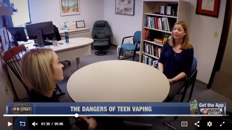 Dr. Megan Piper discusses vaping with Hannah Flood