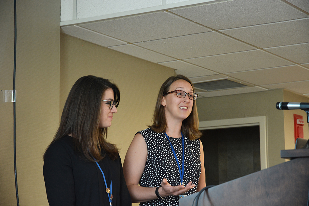 VA StaffElana Brubaker and Kirsten Webster discuss their experiences helping veterans quit tobacco use.